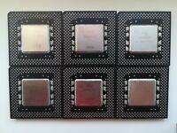 Intel Pentium 166 MMX 200 non MMX 200 233 MMX classic Pentium, Vintage CPU, GOLD