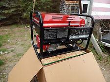 Gillette Gen Pro Generator, 7500 Watts, Honda Motor, New In Box, Pull St. GPE75H