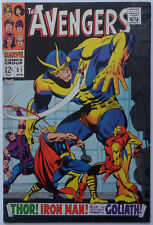 Avengers #51 (Apr 1968, Marvel), VG-FN condition, The Collector appearance