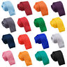 Hommes Cravate Standard Skinny Classique Noeuds Tricot Multicolore Marque DQT