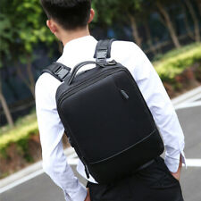 """15.6"""" Laptop Backpack USB Charger Men Anti-theft Waterproof Business Travel Bag"""