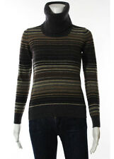 D&G Dolce & Gabbana Multi Color Long Sleeve Turtle Neck Sweater Size Extra Small