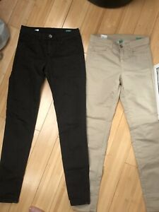 United Colours of Benetton 2 pair of Skinny Trousers/Jeans  Size W25