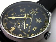 RUSSO MILITARI orologio da polso POLJOT AVIATOR massoniche Simboli RARE