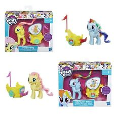 My Little Pony Royal Spin-Along Chariot Play Set Fluttershy Rainbow Dash New