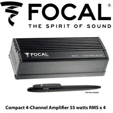 Focal Impulse 4.320 - Compact 4-Channel Amplifier 55 watts RMS x 4 BNIB