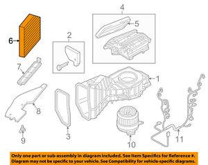 AUDI OEM 11-17 A8 Quattro-Cabin Air Filter 4H0819439
