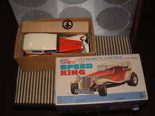 TAIYO VINTAGE, FULLY OPERATIONAL SPEED KING W/TETHERED REMOTE CONTROL & BOX!