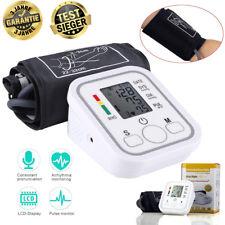 Digital Blutdruckmessgerät Monitor Vollautomatische Blutdruck und Pulsmessung DE