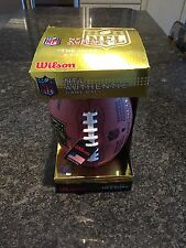 "Wilson Authentic NFL Football, Official Game Ball, ""The Duke"" Leather, New, NIB"