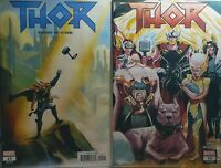 Thor 15-16 2018 Marvel Comics lot Jason Aaron 1st print