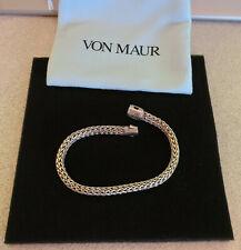 John Hardy Classic Chain Black Spphire Bracelet
