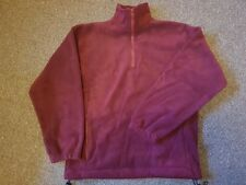 UNISEX Fleece - size SMALL (36'') BURGUNDY RED - NEW