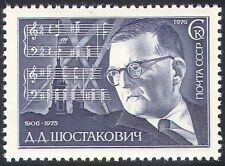 Russia 1974 Shostakovich/Music/Composers/Arts/Musical Score/People 1v (n17826a)