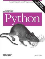 LEARNING PYTHON - LUTZ, MARK - NEW PAPERBACK BOOK