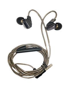 Dual Dynamic Driver In-ear Headphones Noise Cancelling Monitor Earphones 3.5mm
