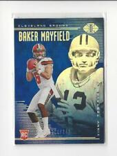 2018 Panini Illusions Blue #2 Baker Mayfield/Vinny Testaverde Browns /249