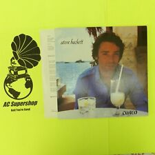 """Steve Hackett Cured - LP Record Vinyl Album 12"""""""