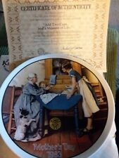 Add Two Cups And A Measure Of Love Mother's Day 1983 Collectors Plate 2061G