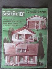 LES CAHIERS DE SYSTEME D plans construction garage atelier bungalow pavillon