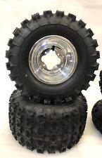 GBC XC Master Reifen + Dwt A5 Poliert Felgen hinter Trx450r Trx250r TRX 400ex