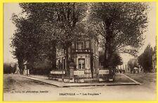 cpa DEAUVILLE (Calvados) Les PEUPLIERS Agence de Location FRANKLIN DESMOULINS