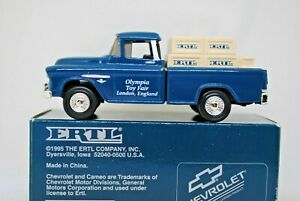 1:43 ERTL Special 1996 OLYMPIA TOY FAIR CHEVROLET Chevy Pick-up Show TRUCK MIB