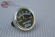 Model A Instrument Panel Amp Meter Guage Dial Ford Script Logo 20-0-20 Hotrod