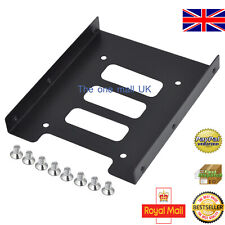 """PC 2.5"""" HDD SSD TO 3.5"""" METAL MOUNTING ADAPTER BRACKET UPGRADE DOCK FOR SSD HDD"""