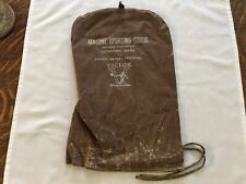 Macone Sporting Goods Vintage Tennis Racket Cover, Concord, Mass
