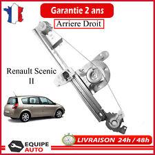 Mecanisme Leve Vitre Electrique Arriere Droit Sénic 2 & Grand Scenic II