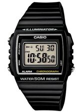 Casio Classic Watch * W215H-1AV Square Retro Digital Black COD PayPal