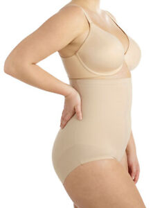 2XL Plus Miraclesuit Adjust Fit Hi Waist Brief Extra Firm Control 2935-1 Nude