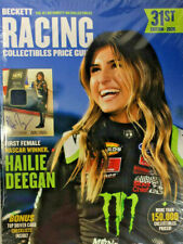 New Beckett Racing Collectibles Price Guide 31st Edition 2020 With Hailie Deegan