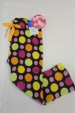NEW Girls Pajamas PJ Pants Size 4 Lounge Wear Brown Soft Bottoms Sleep Warm