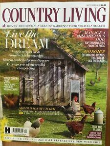 Country Living magazine September 2021