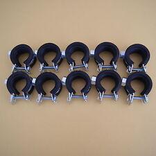 10x Rohrschellen Befestigung Rohrhalter Gelenkrohrschelle Schelle M8,25-30 mm