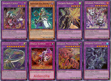 Yugioh Invoked Fuson Deck - Omega Summon, Elysium Aleister Raidjin, Book of Law