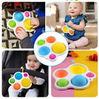 Baby Simple Dimple Sensory Fidget Toy Silicone Flipping Board Kids Adult GiftBab