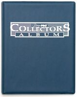 Ultra Pro Collector's Album / Portfolio w/ Pages (Blue) Trading Cards / Gaming