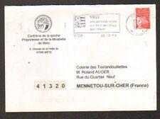 """METZ (57) CONFRERIE de la """"QUICHE PREPONTOISE et de la MIRABELLE DE METZ"""" en1999"""