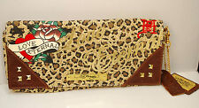 Ed Hardy  Love Evening Purse Dress Bag MINT
