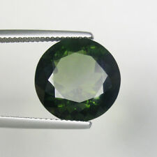 8.55 ct MYSTERY_  OLIVE GREEN  NATURAL METEOR MOLDAVITE * Round - See Vdo 4653