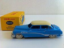 Dan Toys - Buick Roadmaster bleu / crème (Idem Dinky Atlas) 1/43
