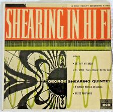George Shearing Quintet Vol 2 45RPM X1185 55-EP-321 MGM Record VTG Rare Get Off