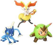 Nouveau Tomy Pokemon Go 3-pack Action Pose - Quilladin,Braixen,Frogadier