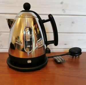 Genuine Dualit DMK1 1 Litre 4 cup Chrome Black Kettle - working well, clean