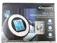 Discovery Expedition Alarm Clock Time & Temperature Projection Sound In Box