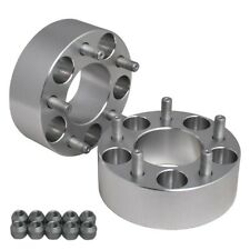 "Hub Centric 2"" (50mm) Wheel Adapters Spacers 5x100 FOR Chevy Chrysler Dodge"