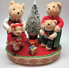 "Avon Christmas Decor Lights/Music ""A Beary Merry Holiday"" Celebration Bears"